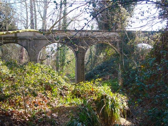 Pont aqüeducte de la petita riera del reremús
